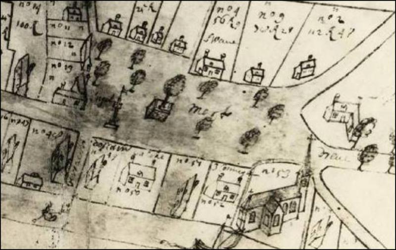 Landmeterboek van Schellebelle en Wanzele, 1658. (AR 156 / 253) Plaetse (fol 118).