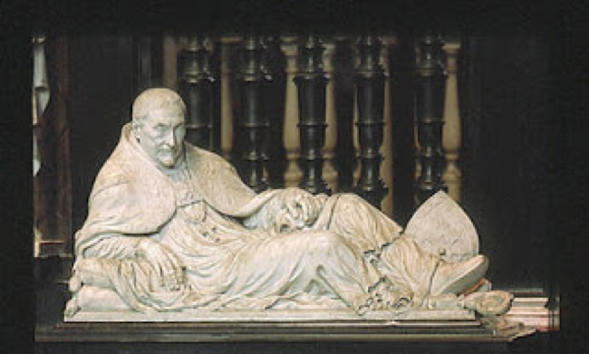 Praalgraf Antonius Triest, Gent St.-Baafskathedraal.
